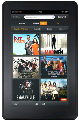 Amazon's Cheapest Tablet PC, Kindle Fire Will be Getting Paramount Pictures Contents