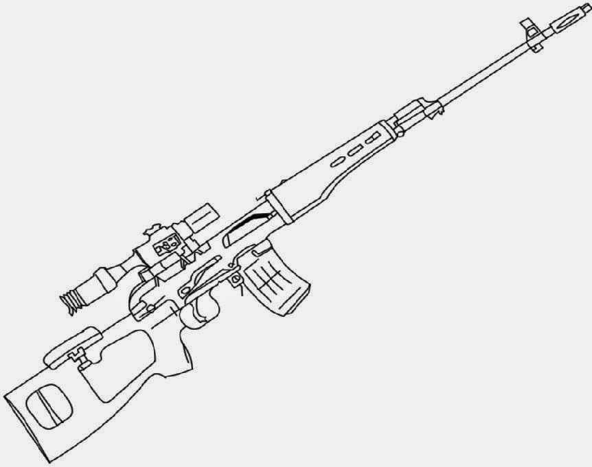 Free Coloring Pages Of S Gun Gun Coloring Pages