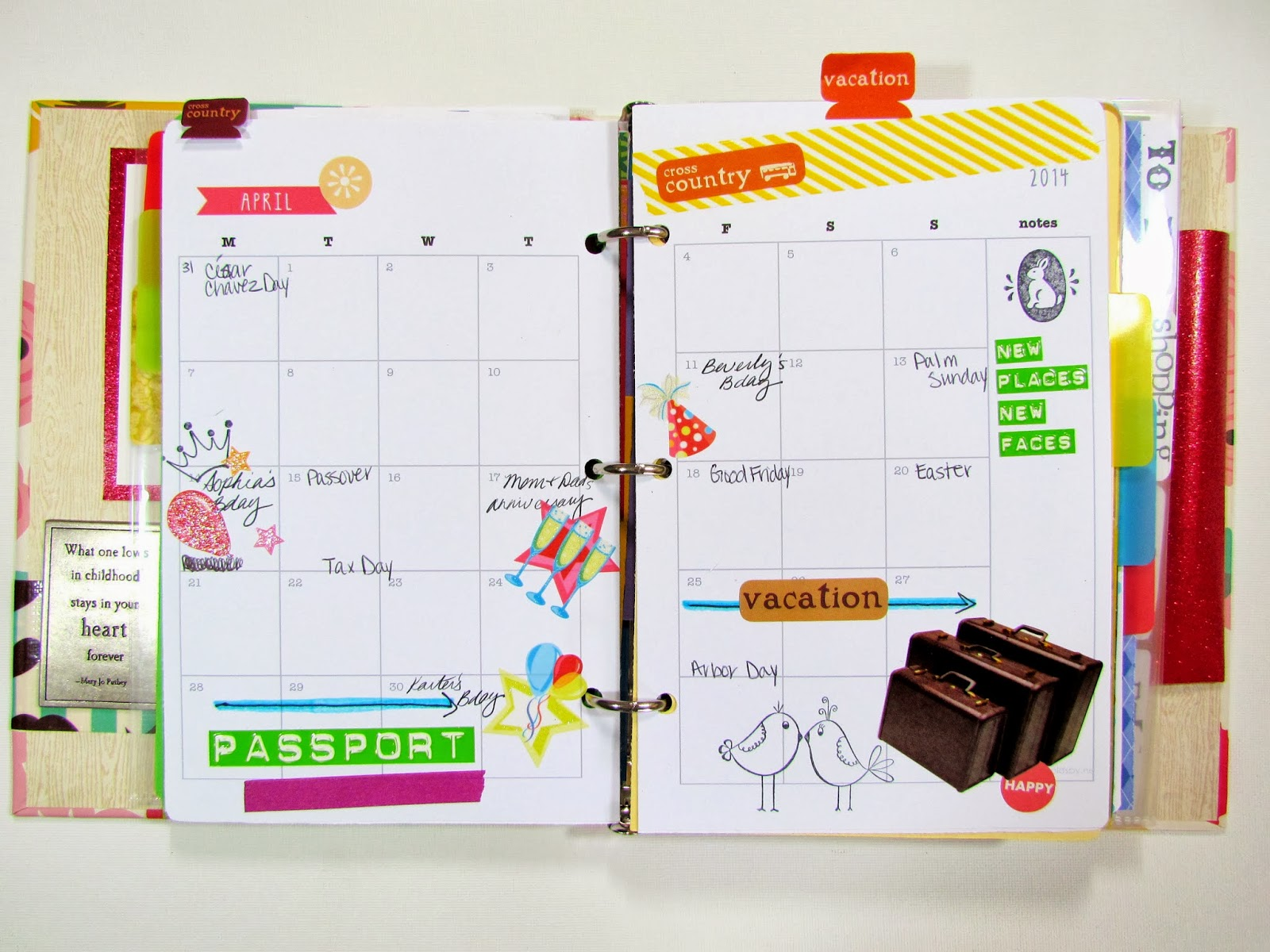 Diy Calendar Uk : Gypsies crafts treats diy planner