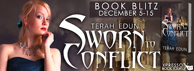 Book Blitz: Sworn to Conflict (Courtlight #3) by Terah Edun