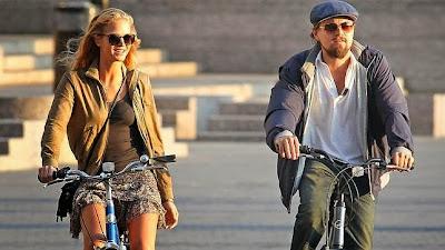 Erin Heatherton y Leo DiCaprio