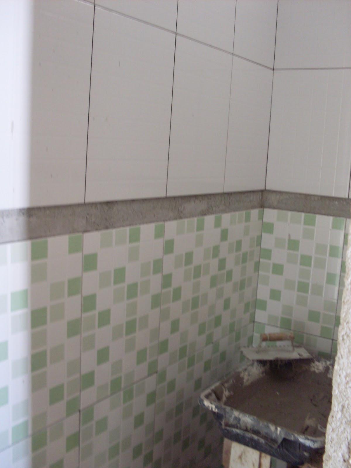 Reforma do Banheiro Social!  Um dia no Apê (a reforma)! -> Banheiro Pequeno Reforma