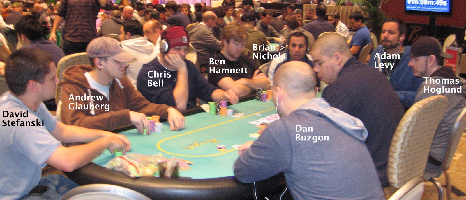 Borgata winter poker open 2013 championship table that for Championship table 98 99