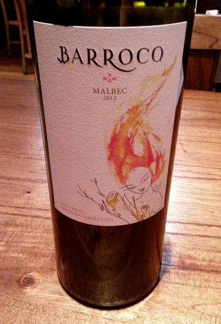 Barroco Malbec 2012