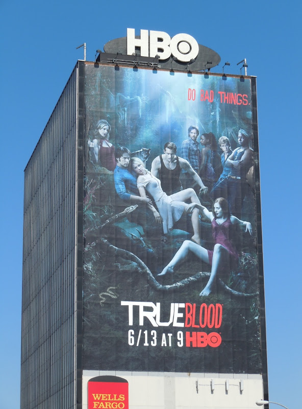 True Blood Do Bad Things season 3 billboard