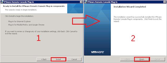 Asistente VMware Remote Console Plug-in