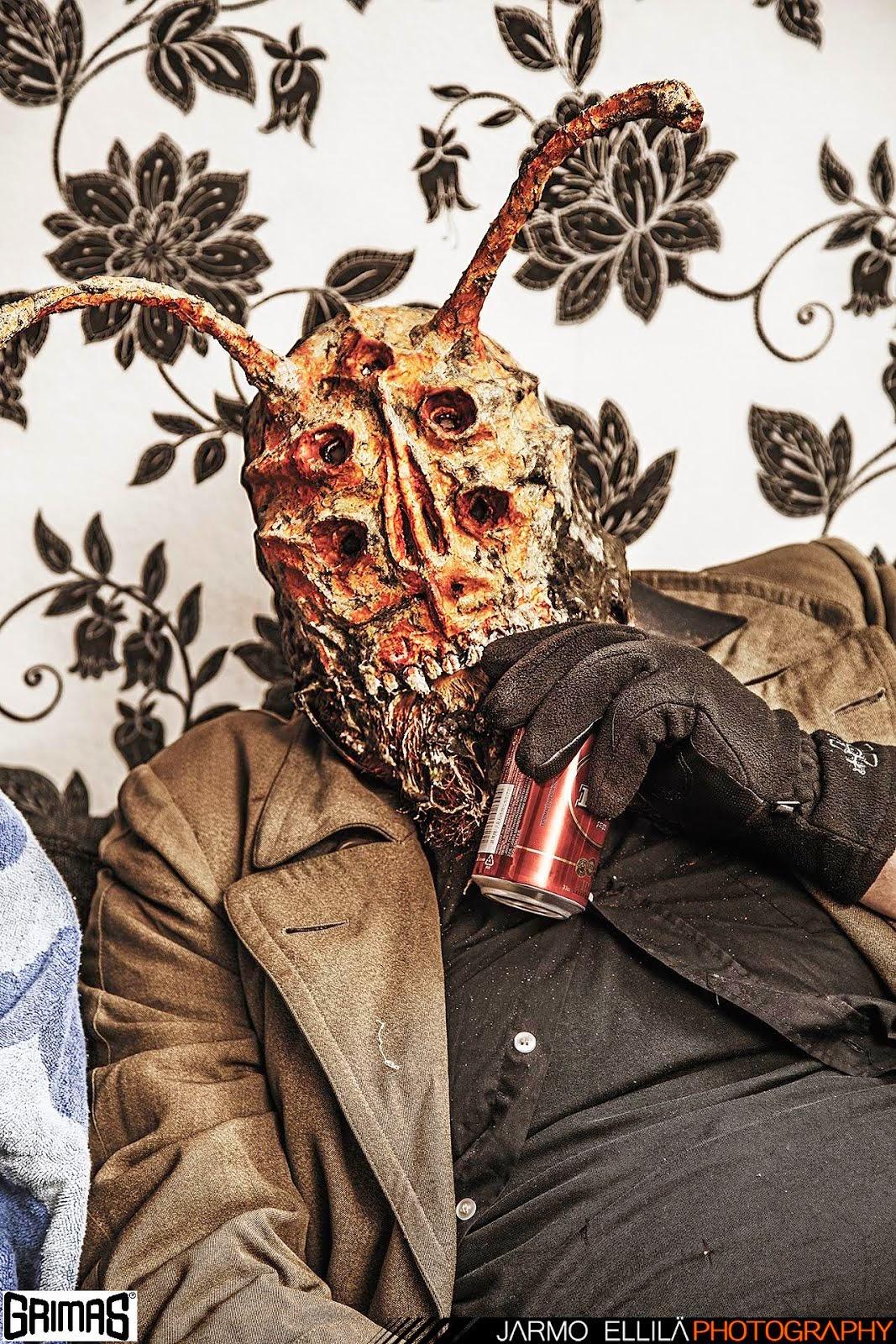 Ant-Alien-Man / model: Jukka Hautajärvi. Makeup: Ari Savonen.