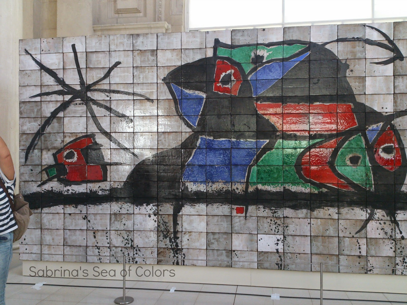 Joan Miró. Mural en MNAC