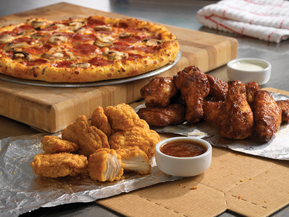 ... Pizza Boneless Chicken & Chicken Wings (Ends 4/13 at 11:59 PM CDT