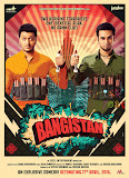 Shreyas Talpade and Pulkit Samrat with bombs in Bangistan movie poster