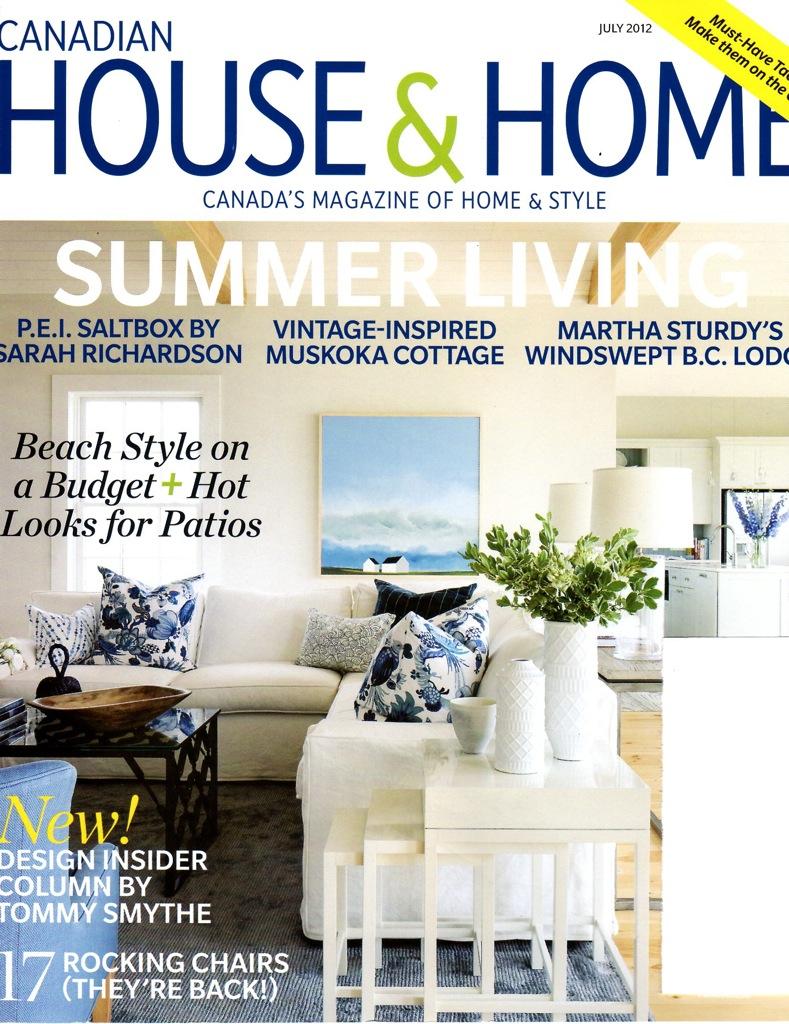 Design Maze: Summer Living: Cottage Style with Sarah Richardson