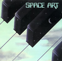La portada del lbum homnimo de Space Art creada por el artista Jean Auguste Ringard