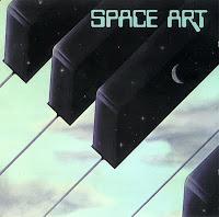 La portada del álbum homónimo de Space Art creada por el artista Jean Auguste Ringard
