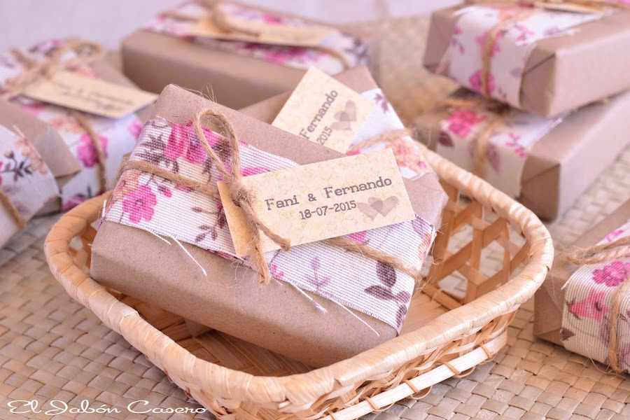 detalles de boda el jabon casero