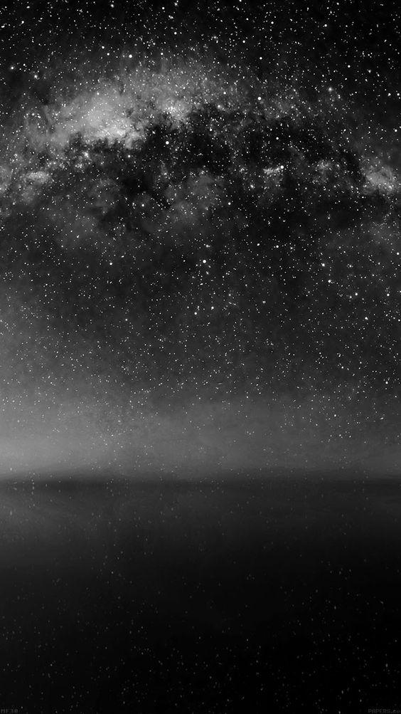 stars black and white wallpaper papel de parede imagem