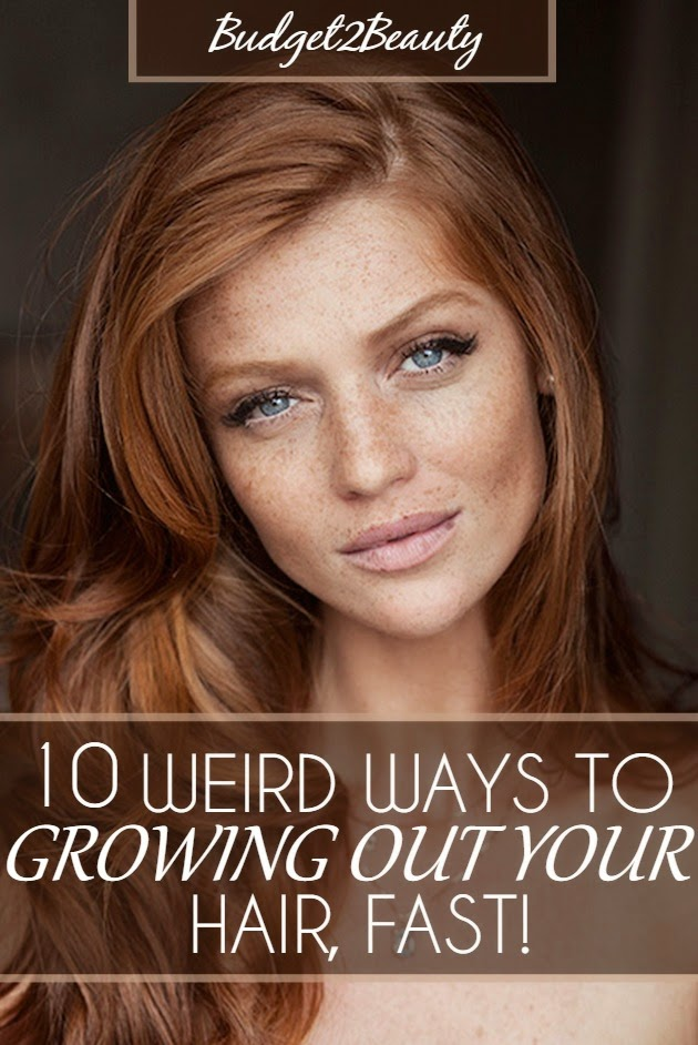 How to grow out layered hair fast