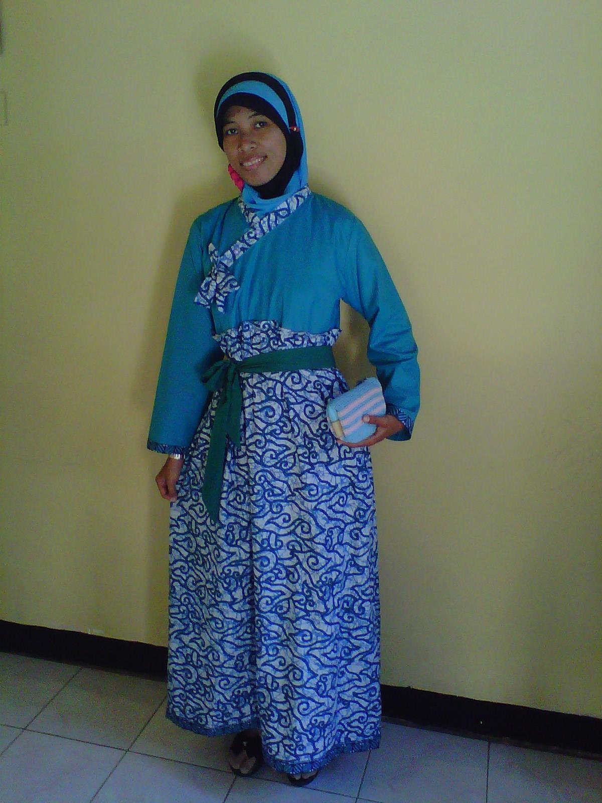Toko Cantik Gamis Hanbook Batik Mega Mendung