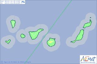 aviso alerta viento cumbre gran canaria 20 21 mayo