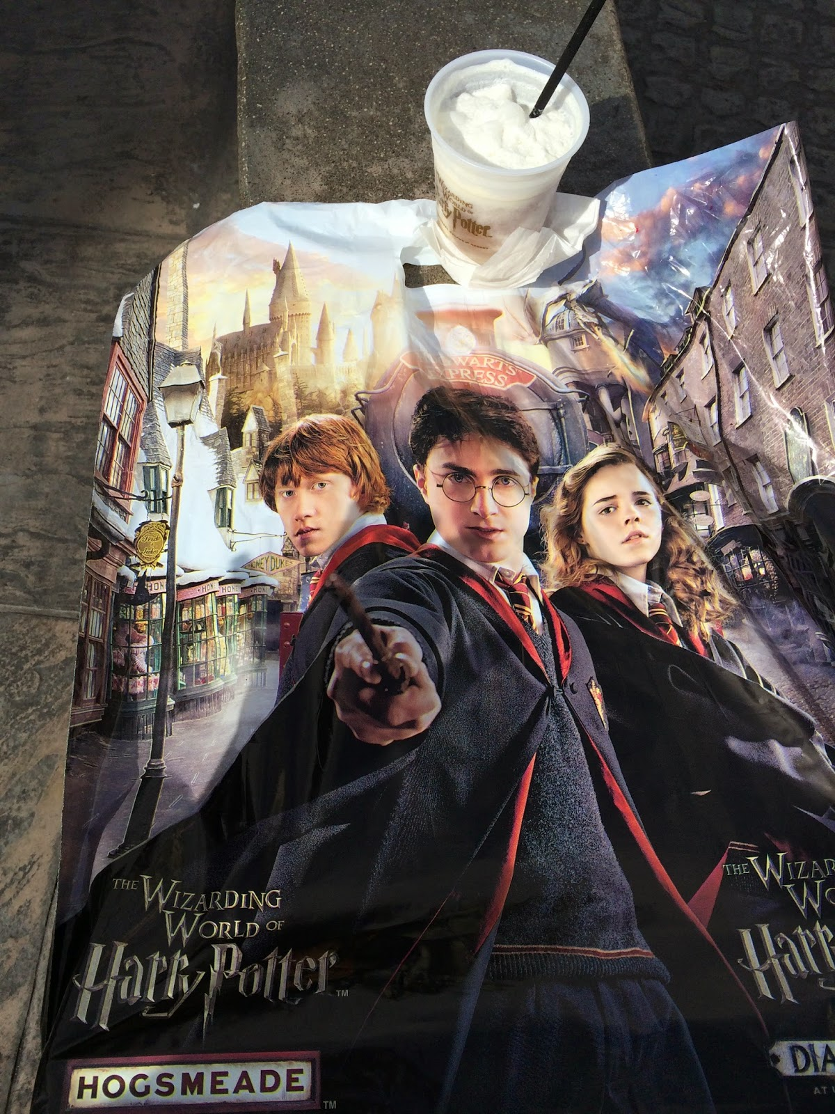 New WWoHP Diagon Alley shopping bag
