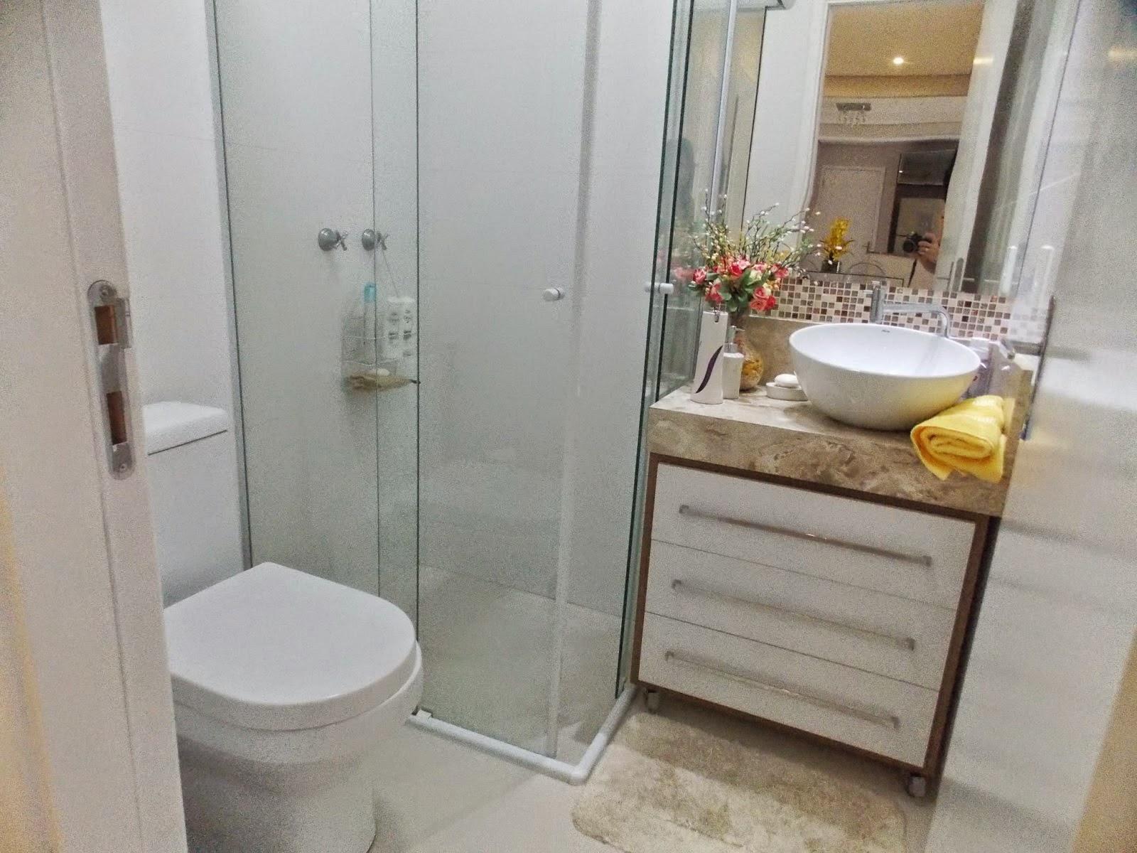 Nossa Casa Nova Inspirações para banheiro pequeno -> Banheiro Simples E Lindos