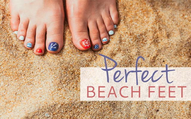 Perfect Beach Feet