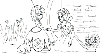 Belajar Mewarnai Bareng Putri Sofia