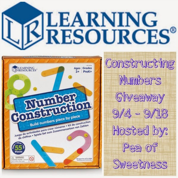 Constructing Numbers Giveaway