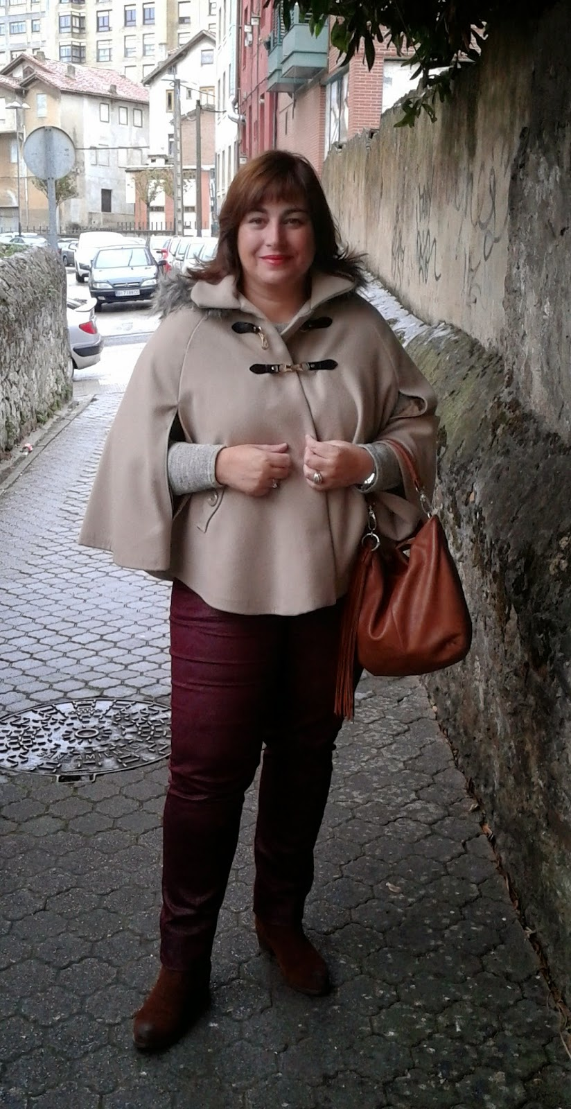 A mi estilo: Mi capa beige