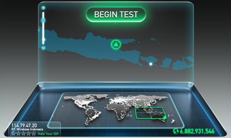 Cara Cek Kecepatan Internet [Online]