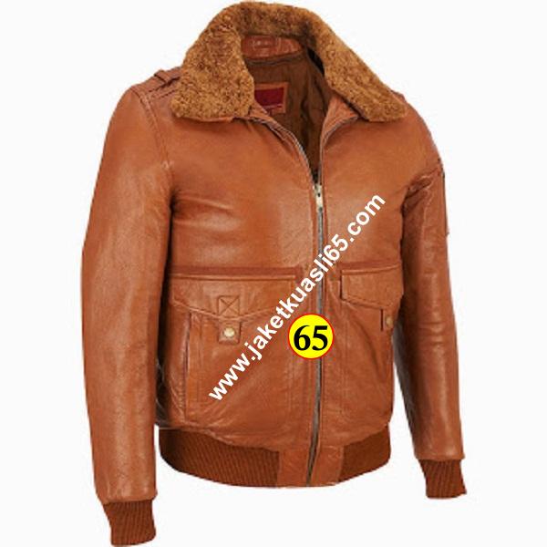 jaket kulit domba super