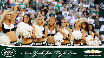 New York Jets Girls Cheerleaders Team HD Desktop Wallpaper