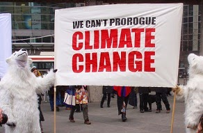 We can't prorogue Climate Change.