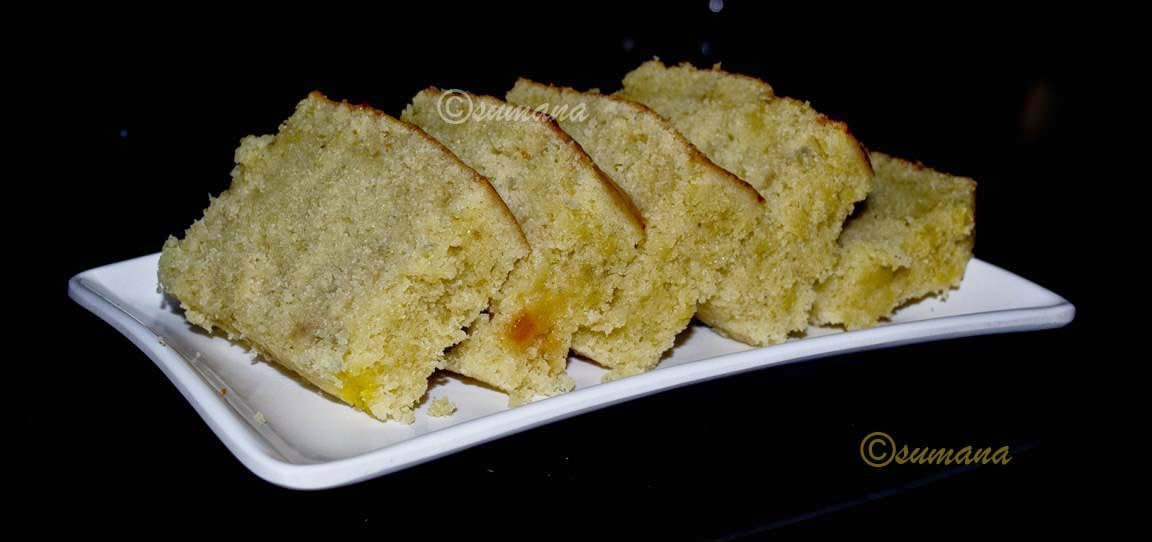 easy Banana Loaf recipe in microwave
