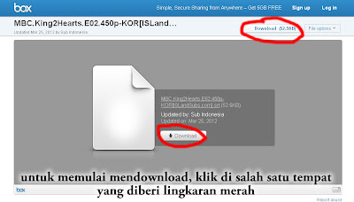 Tutorial mendownload di Box