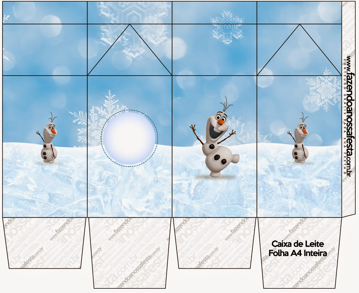 Olaf Free Printable Boxes Oh My Fiesta In English