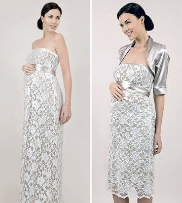 модели на сватбени рокли за бременни жени