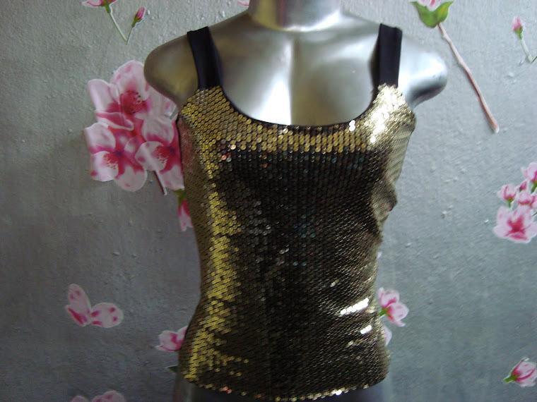 blusa de lantejola