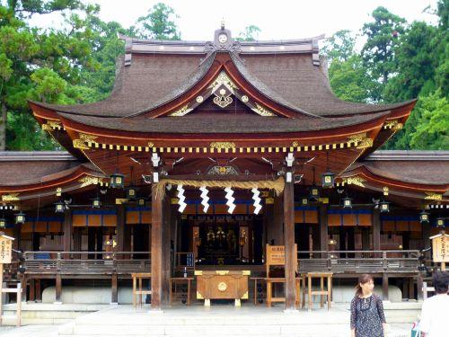 多賀大社拝殿