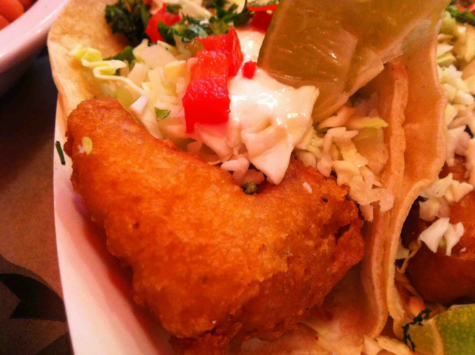 Cafe la la sea salt fish grill in santa monica glow 2013 for Seasalt fish grill