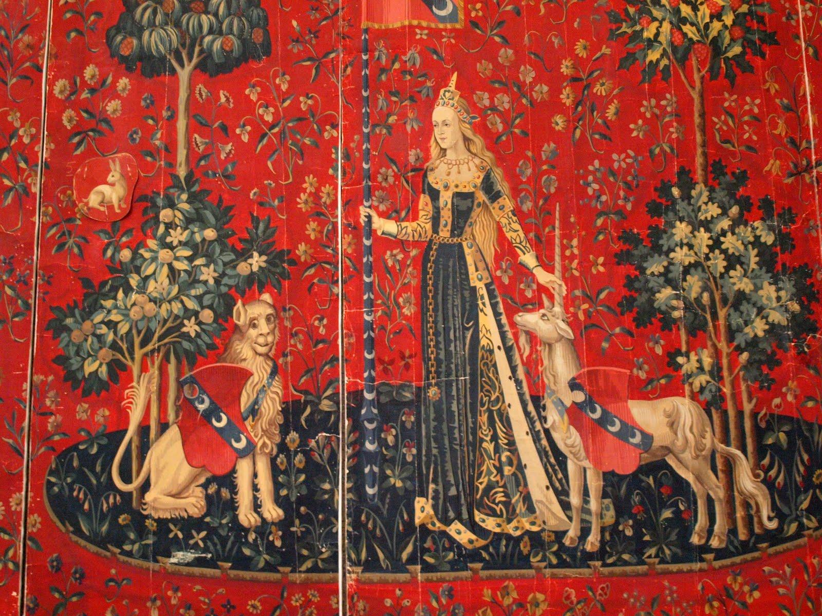 scorpions des ardoises un ensemble de tapisseries la dame la licorne xv me si cle. Black Bedroom Furniture Sets. Home Design Ideas