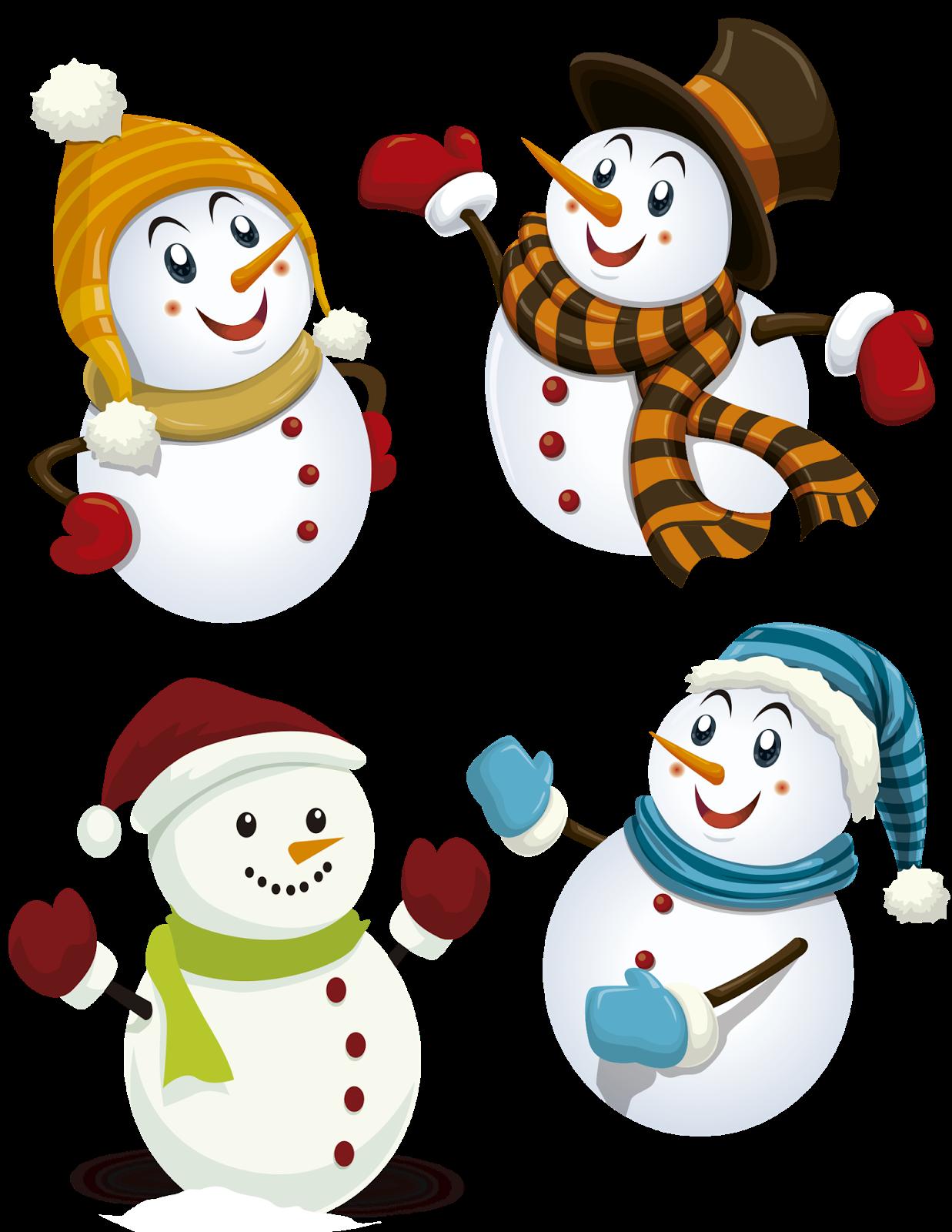 Cosas en PNG: Muñecos de nieve en png