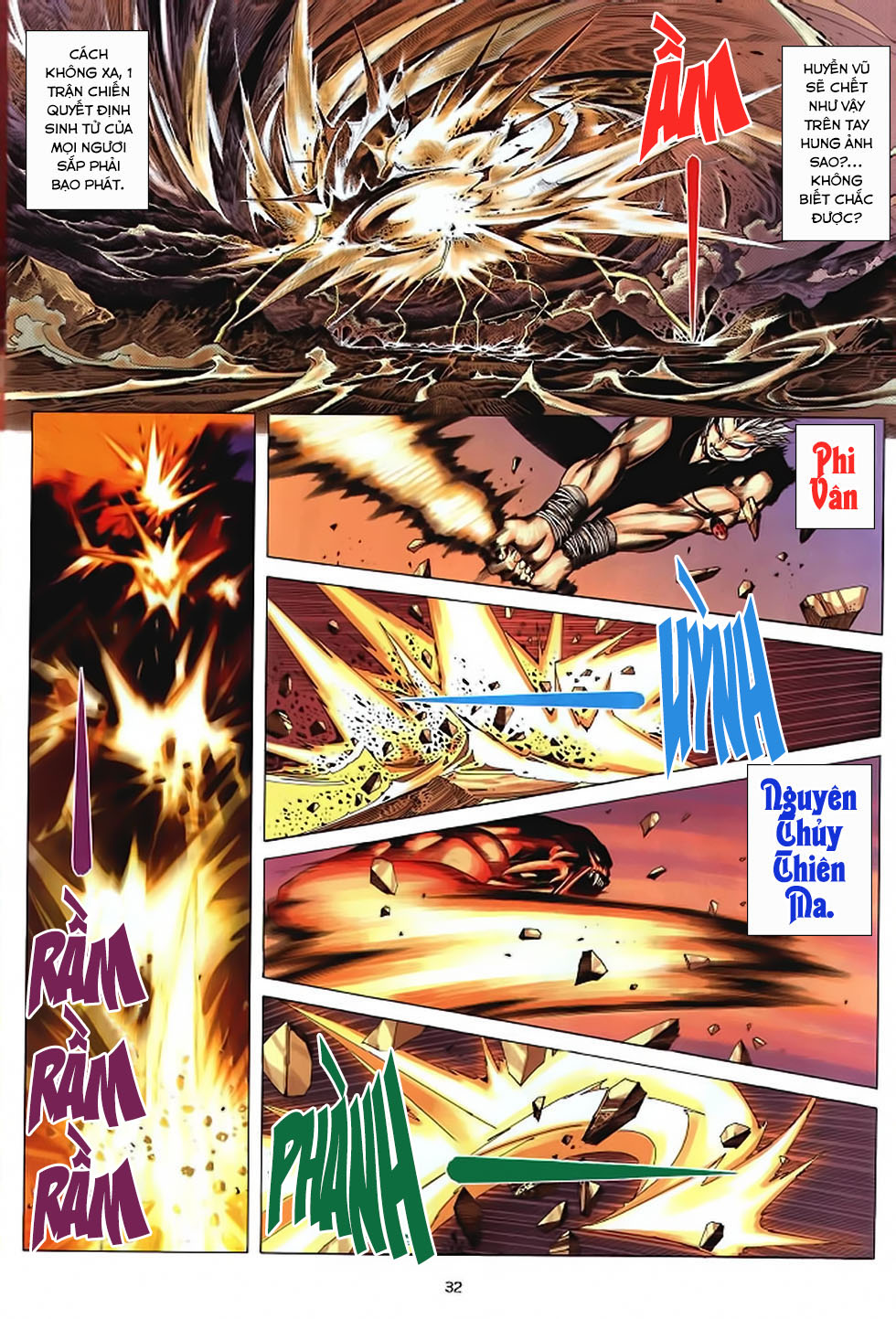 Chiến Thần Ký chap 39 - Trang 33