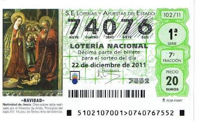 loteria de navidad en la bruja de sort: