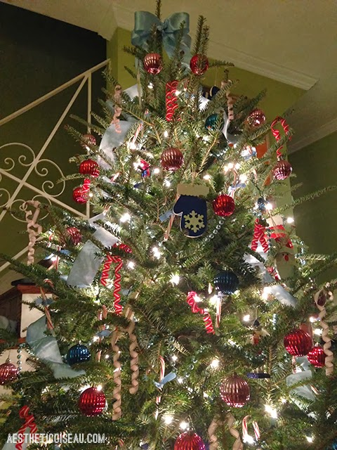 Ribbon Christmas Tree Toppers