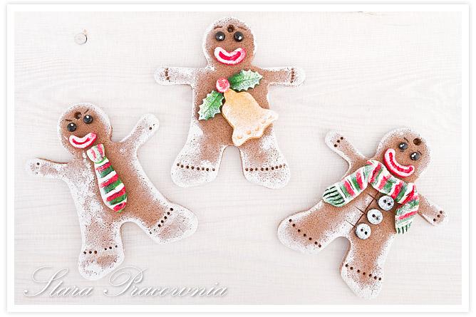 ozdoby na choinkę z masy solnej, świąteczne ozdoby z masy solnej, pierniczki z masy solnej, masa solna, salt dough craft