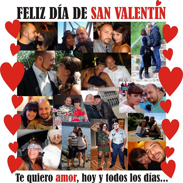 FELIZ SAN VALENTÍN A TOD@S Y EN ESPECIAL A TI...