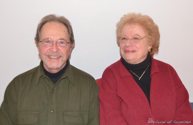 Paul Collins (voice of John Darling) and his wife, Ellen, #PeterPanDiamond