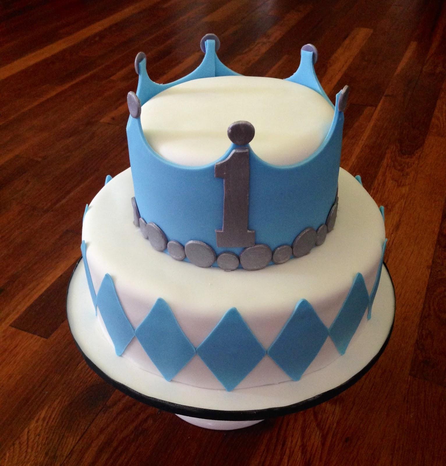 Cakes by Becky Prince 1st Birthday Cake
