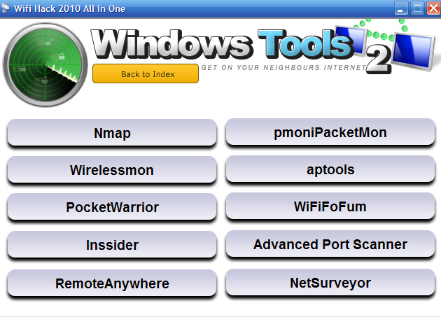 Softwares World: WiFi Hack AIO 2010 Free Download