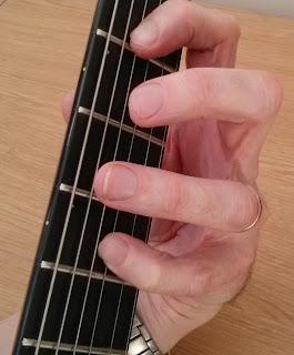 Am add9 guitar chord